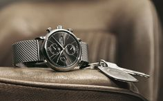 mens watches with mesh strap - Google Search