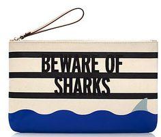 Beware Of Sharks clutch