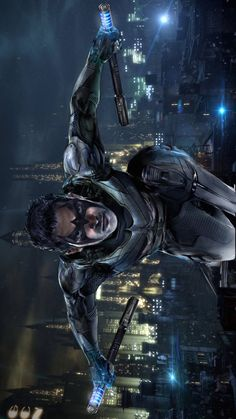 "NIghtwing (Richard ""Dick"" Grayson) by John Gallagher * Dc Comic Books, Comic Book Characters, Comic Character, Comic Art, Marvel Comics, Dc Comics Art, Bob Kane, Jason Todd, Batman Art"