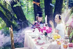 Alice in Wonderland & The Mad Hatter Tea Party