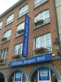 """A Bruxelles... scoprire per sbaglio la casa editrice dedicata al grandissimo autore di """"Ne me quitte pas""""... emozioni regalate dal caso..."""