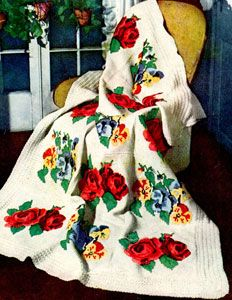 Victorian Afghan Pattern