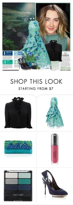 """""""""""Remember that sometimes not getting what you want is a wonderful stroke of luck."""""""" by beautifully-eclectic ❤ liked on Polyvore featuring Garance Doré, Alexander McQueen, Zac Posen, Nancy Gonzalez, Revlon, Wet n Wild, Oscar de la Renta, Marie Hélène de Taillac, lucky and Irish"""