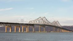 Tappan Zee Bridge Timelapse 1 - Stock Footage   by cholmesphoto - Timelapse sequence of the Tappan Zee Bridge, spanning the Hudson River from Westchester County to Rockland County, New York, with morning traffic and light clouds rolling over.