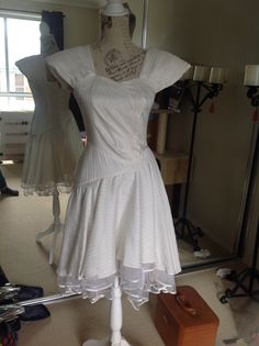 White dress without bow
