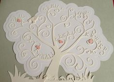 Family Tree - Request one from Crazeevanilla Crafts via Facebook