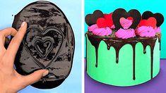Cake Decorating Frosting, Cake Decorating Designs, Creative Cake Decorating, Cake Decorating Videos, Cake Decorating Techniques, Cake Designs, Cookie Decorating, Decorating Ideas, Chocolate Work