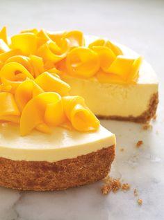 Recette de gâteau-mousse au yogourt à la mangue de Ricardo