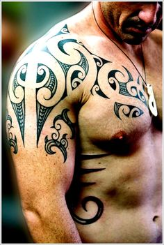 http://tattoo-ideas.us #Maori Tribal Tattoo Designs Tips: Simple Maori Tribal Tattoo Designs For Men ~ Tattoo Design Inspiration