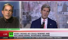 Word Apartheid: 'Why Can't John Kerry Stand Behind His Statement On Israel?' ~ Pub on Apr 29, 2014 ~ US Secretary of State, John Kerry is in damage control mode after some behind-closed-door comments. Kerry apparently warned Israel it was headed to an 'apartheid state'. He issued a strong statement apologizing and said he wished he had chosen a different word. For more on this RT is joined by Harretz newspaper columnist Gideon Levy.