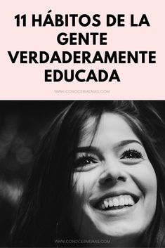 11 Hábitos de la gente verdaderamente educada Self Motivation, Good Habits, New Things To Learn, Body Language, Study Tips, Peace Of Mind, Self Improvement, Self Help, Personal Development