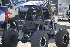 Not your average kid's powerwheels - : and Off-Road Forum Mini Trucks, Cool Trucks, Rock Crawler Chassis, Tube Chassis, Cool Go Karts, Kids Jeep, Off Road Buggy, Mini Monster, Go Car