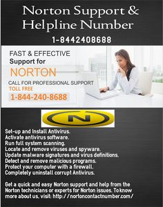#NortonSupportPhoneNumber or Norton toll-free number at 1-8442408688, get #NortonSupport.