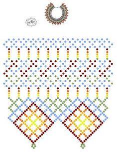 Дыхание Бисера's photos Bead Embroidery Patterns, Beading Patterns Free, Bead Loom Patterns, Diy Necklace Patterns, Beaded Jewelry Patterns, Bead Loom Bracelets, Bracelet Crafts, Loom Beading, Bead Weaving