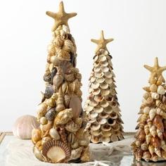 Shell Christmas trees