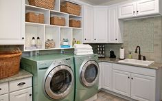 33 laundry room shelving and storage ideas is one of images from laundry storage room. This image's resolution is pixels. Find more laundry storage room images like this one in this gallery Laundry Room Shelves, Laundry Room Cabinets, Laundry Room Organization, Laundry Room Design, Diy Cabinets, Corner Cabinets, Open Cabinets, Laundry Storage, Laundry Hacks