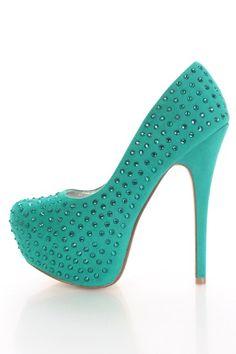 Jade Faux Suede Beaded Detailing Closed Pump Heels @ Amiclubwear Heel Shoes online store sales:Stiletto Heel Shoes,High Heel Pumps,Womens High Heel Shoes,Prom Shoes,Summer Shoes,Spring Shoes,Spool Heel,Womens Dress Shoes,Prom Heels,Prom Pumps,High Heel Sa