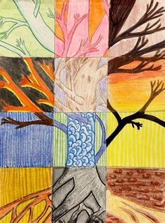 Tree Square: Elements of Art (7th