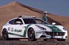 Ferrari FF Dubai Police