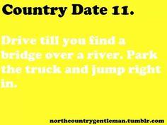 Redneck date ideas