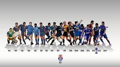 Uniformes históricos Universidad de Chile Chile, Ballet, Basketball Court, Football, Grande, Rock, Soccer, Universe, Sports