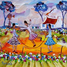 Artwork of Portchie exhibited at Robertson Art Gallery. Original art of more than 60 top South African Artists - Since African Art Paintings, South African Artists, Dream Art, Naive Art, Outsider Art, Whimsical Art, Pictures To Draw, Art Boards, Folk Art