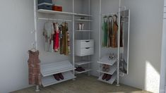besta-stolmen by DaragoFacilisimo Closet Bedroom, New Room, Offices, Ikea, Entryway, Projects, House, Furniture, Design