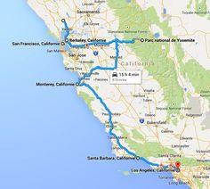 10 Days Itinerary in California
