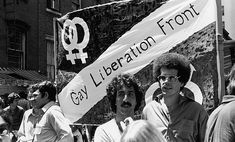 People march under a homemade Gay Liberation Front banner in the Gay Pride Day parade New York New York June 28 1970 Stonewall Inn, Stonewall Riots, Pride Day, Gay Pride, Gay Rights Movement, Lgbt Rights, Pride Parade, Lgbt Community, Freedom Of Speech
