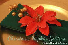 Anatomy of a Craft: DIY Christmas Napkin Holders