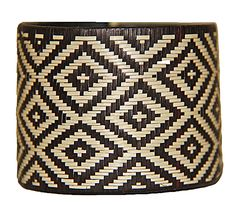 Caña Flecha Black And White Large Cuff - Colombia