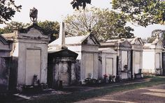 Love the look of the New Orleans cemeteries