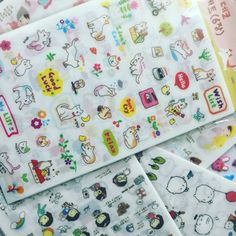 "Stickers planificateur kawaii :-)   Etsy shop ""PlumeRose"""