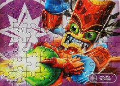 Puzzle Skylanders Giants - Double Trouble - Puzzles dessins animés