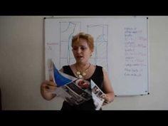 Modelagem de Vestido Tubinho com Recortes - Aula 6 - YouTube