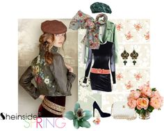 """""""Signs Of Spring With Sheinside"""" by classicfem ❤ liked on Polyvore"""