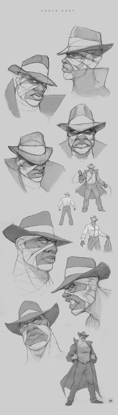 Black Sage Characters by miguel membreño, via Behance ★ Find more at http://www.pinterest.com/competing/