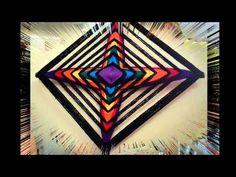 Como iniciar un Mandala Tejido - YouTube