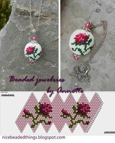 Beaded beads tutorials and patterns, beaded jewelry patterns, wzory bizuterii koralikowej, bizuteria z koralikow - wzory i tutoriale Bead Crochet Patterns, Bead Crochet Rope, Seed Bead Patterns, Beaded Jewelry Patterns, Beading Patterns, Beaded Beads, Beads And Wire, Pearl Beads, Beaded Crafts