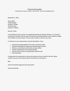 How to write a good job application cover letter