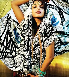 Whatever you have to say about M.I.A., don't say she's not fierce. Damn.