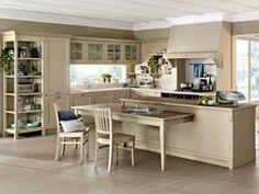 Cucina in legno con isolaISLAND | Cucina con isola - PEDINI