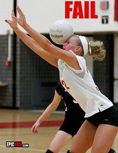 Funny Pictures – 45 Pics best of sports fails - So Funny Epic Fails Pictures Volleyball Players, Volleyball Setter, Volleyball Shirts, Cheerleading, Sports Fails, Sports Memes, Funny Sports Pictures, Funny Volleyball Pictures, Sports Humor