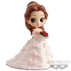 Shop Banpresto Q posket Disney Characters -Belle Dreamy Style- PInk ver anime japan. Disney Animator Doll, Disney Dolls, Nice Dp For Whatsapp, Belle Wedding Dresses, Disney Store Uk, Blush On Cheeks, Disney Figurines, Cute Polymer Clay, Cute Disney
