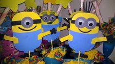 Despicable Me party decorations!