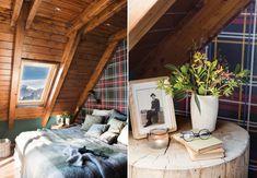 Cabană de munte, cochetă și primitoare – Fabrika de Case  #bedroom #logcabin #cozyhome