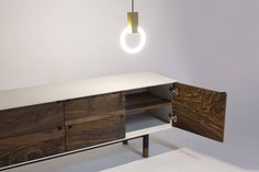 COASTAL CREDENZA - Jeff Martin Joinery Low Tables, Boat Building, Joinery, Credenza, Corner Desk, Coastal, Bronze, Steel, Cabinet