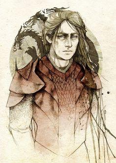Rhaegar Targaryen, by Elia Mervi