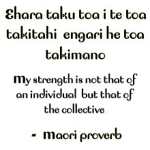 Maori quote my strength does not come from me alone but from many Early Childhood Quotes, Early Childhood Education, Maori Words, Tree Quotes, Maori Art, Art Classroom, Classroom Labels, Classroom Quotes, Classroom Ideas