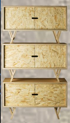 Oh les belles dérives du bois : série 1 le Triply(R) ou O.S.B !
